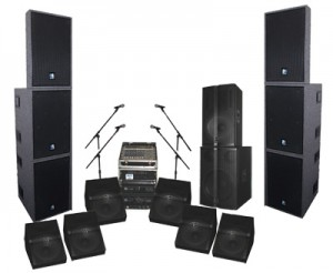 sound system on rent